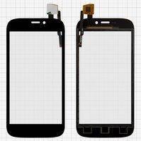 Сенсорный экран для мобильных телефонов Qumo Quest 452, Quest 453, черный, тип 1, #HSY-003
