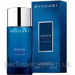 Bvlgari Aqva Pour Homme Atlantiqve (30мл), Мужская Туалетная вода  - Оригинал!