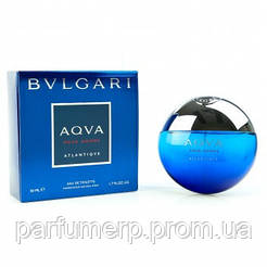 Bvlgari Aqva Pour Homme Atlantiqve (50мл), Мужская Туалетная вода  - Оригинал!