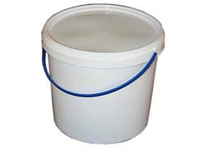 Ведро пластиковое с герметичной крышкой Свитпак 1 л белое