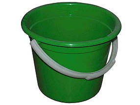 Ведро пластиковое пищевое Консенсус 8 л зеленое