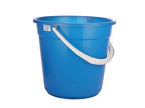 Ведро пластиковое пищевое Консенсус 15 л синее