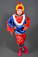 Детский карнавальный костюм ПЕТУШОК ПЕТУХ на 6,7,8,9,10 лет новогодний маскарадный костюм ПЕТУХА, ПЕТУШКА