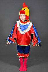 Детский карнавальный костюм ПЕТУШОК ПЕТУХ на 6,7,8,9,10 лет новогодний маскарадный костюм ПЕТУХА, ПЕТУШКА 331