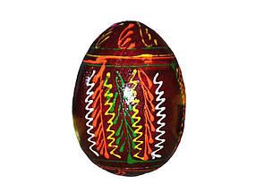 """Заготовка дерево с рисунком Яйцо цветное """"Западная"""""""