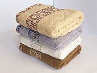 Махровое банное полотенце 140х70см (лабиринт)