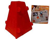 Форма пластиковая для творожной пасхи (h=100 мм)
