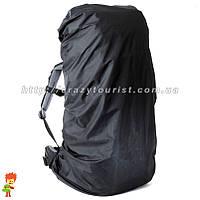 Дождевик для рюкзака 80-90 литров Black, фото 1