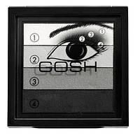 Тени для век Gosh Smokey Eye Shadow 01 Black/gray