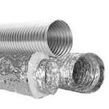 Воздуховод гибкий изолированный - теплый ММПУ 100мм, фото 3