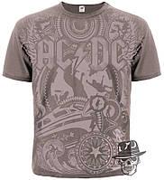"Футболка AC/DC ""Rock 'n' Roll Train"" (chocolate t-shirt)"
