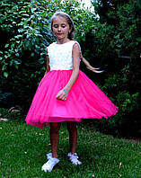 Платье на девочку нарядное Малинка (93)