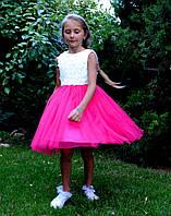 Платье на девочку нарядное Малинка (93), фото 1