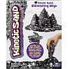 Кинетический песок Kinetic Sand Metallic цвет черный 71408On