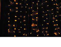 Гирлянда штора желтая (2 м.* 1.1 м.) , фото 1