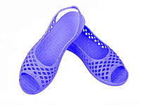 Капці пляжні жіночі (6 пар) арт. SV026, сині (3641р.) ТМ CROSS
