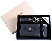 Подарочный набор 3 в 1: зажигалка-нож/брелок/портмоне