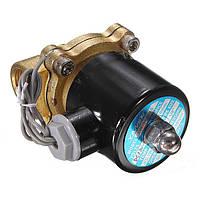 12В, 24В Электромагнитный клапан для воды, масла, воздуха, фото 1