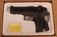 Залізний пістолет на пульках zm21, дитяче зброю, відмінний подарунок, фото 1