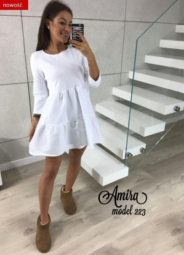 Красивое женское платье  свободного кроя