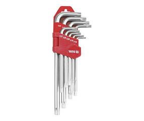 Набор L-обр. ключей TORX T10-T50  9ед. YATO (YT-0511)