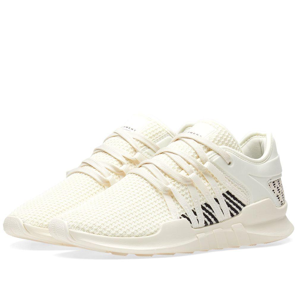381aecfae Оригинальные кроссовки Adidas EQT Racing ADV W Off White & Black -  Sport-Sneakers -