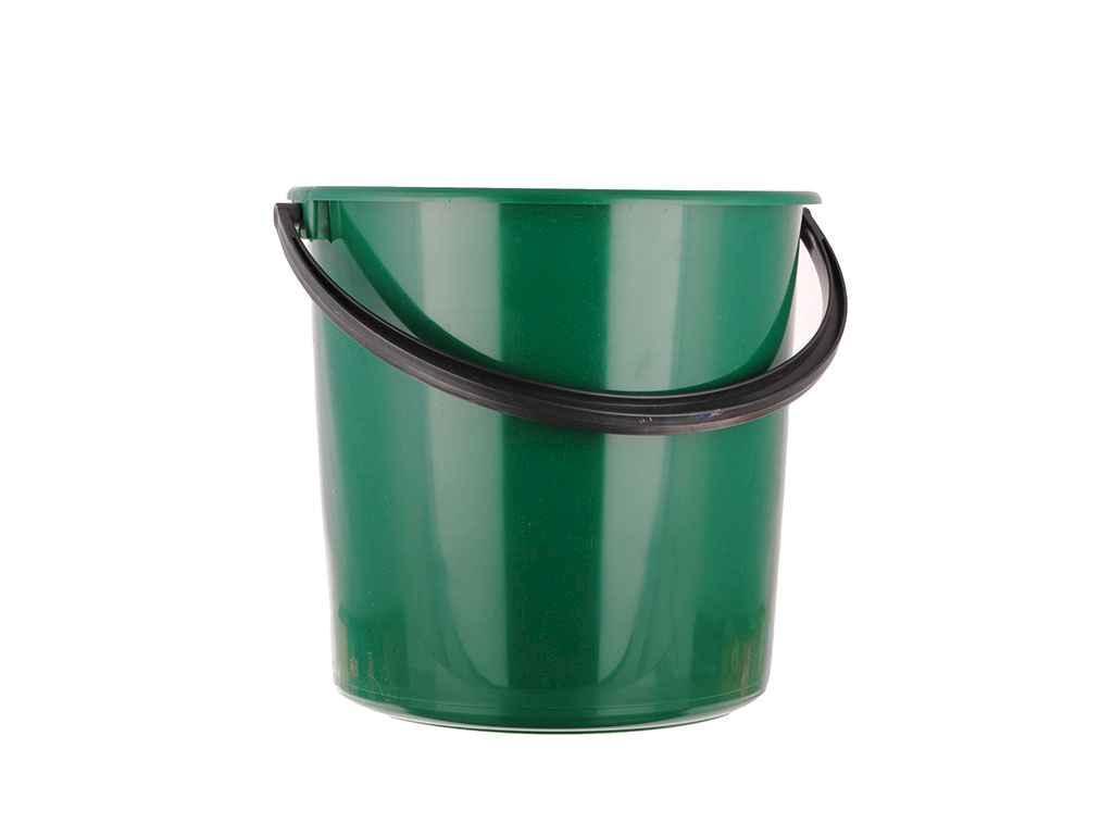 Відро пл. 10л госп.зелене ТМ МЕД - Твой домик в Кривом Роге
