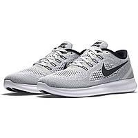 Мужские кроссовки Nike Free Run Grey/Black