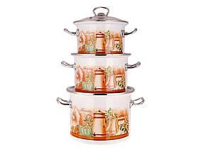 Набор эмалированной посуды 3 предмета №1500 Флоренция EPOS