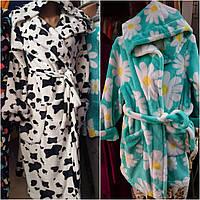 Махровые халаты для девочек, фото 1