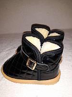 Детские лаковые ботиночки Chanel