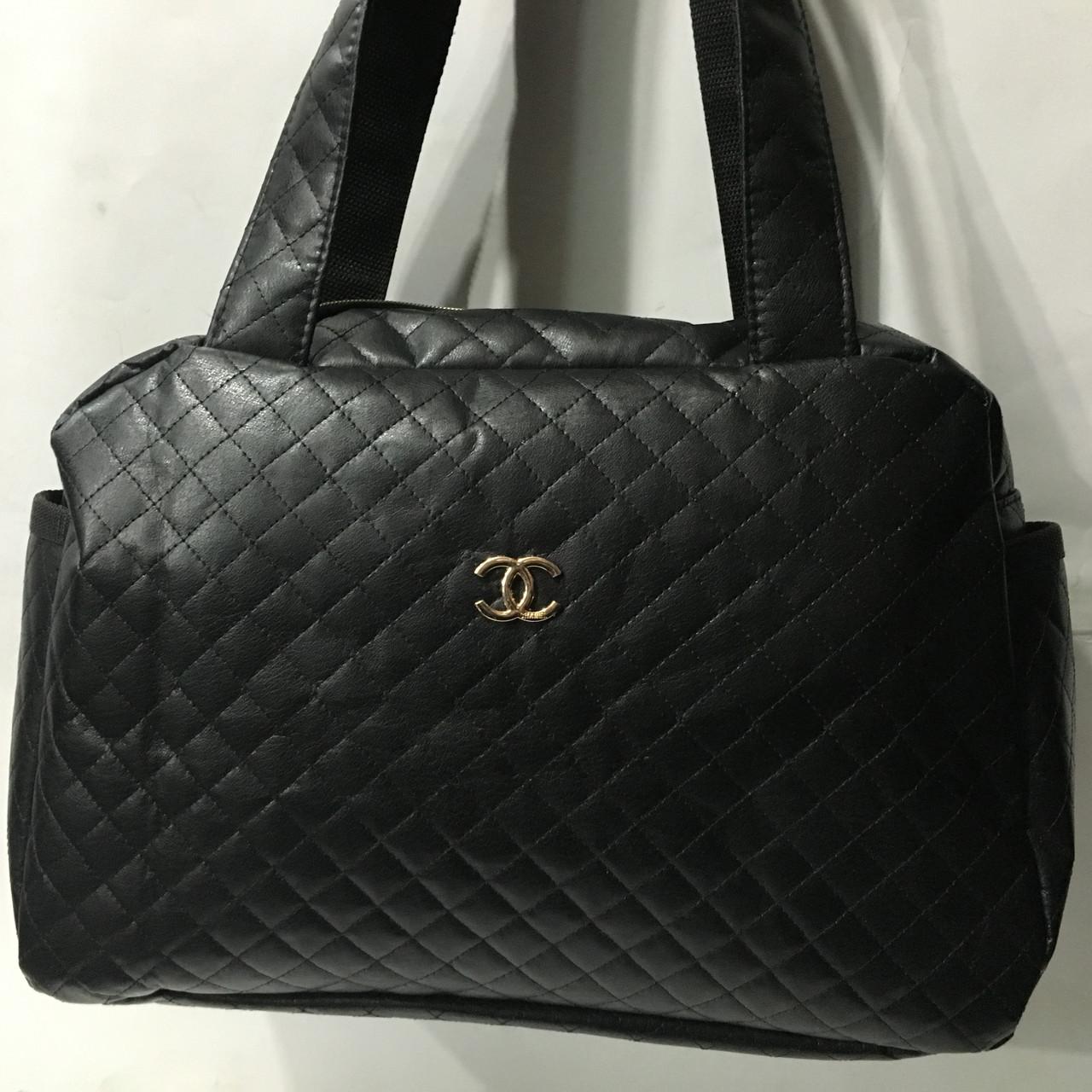 844fd1629486 Сумка стеганная кожа Стильная Дутая Сумка женская Chanel (Шанель)  спортивная оптом