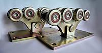 Усиленный комплект фурнитуры для откатных ворот весом до 1000кг (усиленные металлические ролики)Rolling-hitec