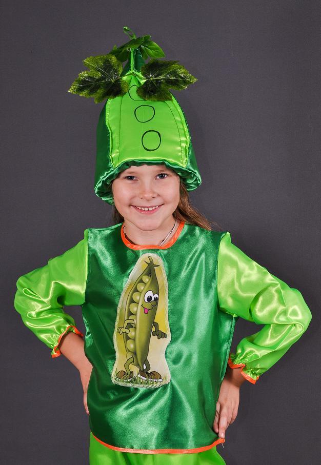 5cbb0bf8e27 Детский карнавальный костюм ГОРОШЕК на 3