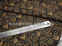 Пальтовая ткань с вышивкой (Турция, 40% шерсть)
