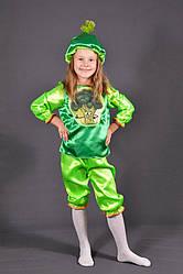Детский карнавальный костюм КАПУСТА БРОККОЛИ на 3,4,5,6,7,8 лет маскарадный костюм ОВОЩИ. 318