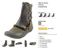 100% Оригинал из США Ботинки зимние с мехом и войлоком с активной стелькой JBU by Jambu. 38.5, 25