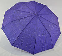 """Женский зонт полуавтомат """"капли дождя"""" на 10 спиц от фирмы """"SL""""."""