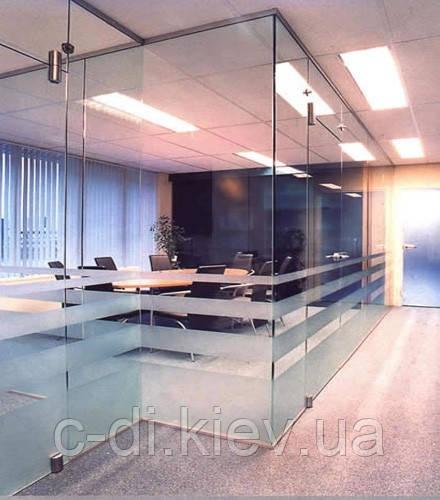 Стеклянные перегородки из безопасного стекла, фото 1