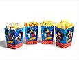 """Коробочка для попкорну та солодощів """"Мінні Маус"""" 5 шт., фото 2"""