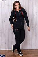 Женский спортивный костюм трехнитка Турция размер 52,54,56