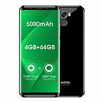 Смартфон Oukitel K5000 золотой (5,7 дюймов, памяти 4/64,батарея 5000 мАч)