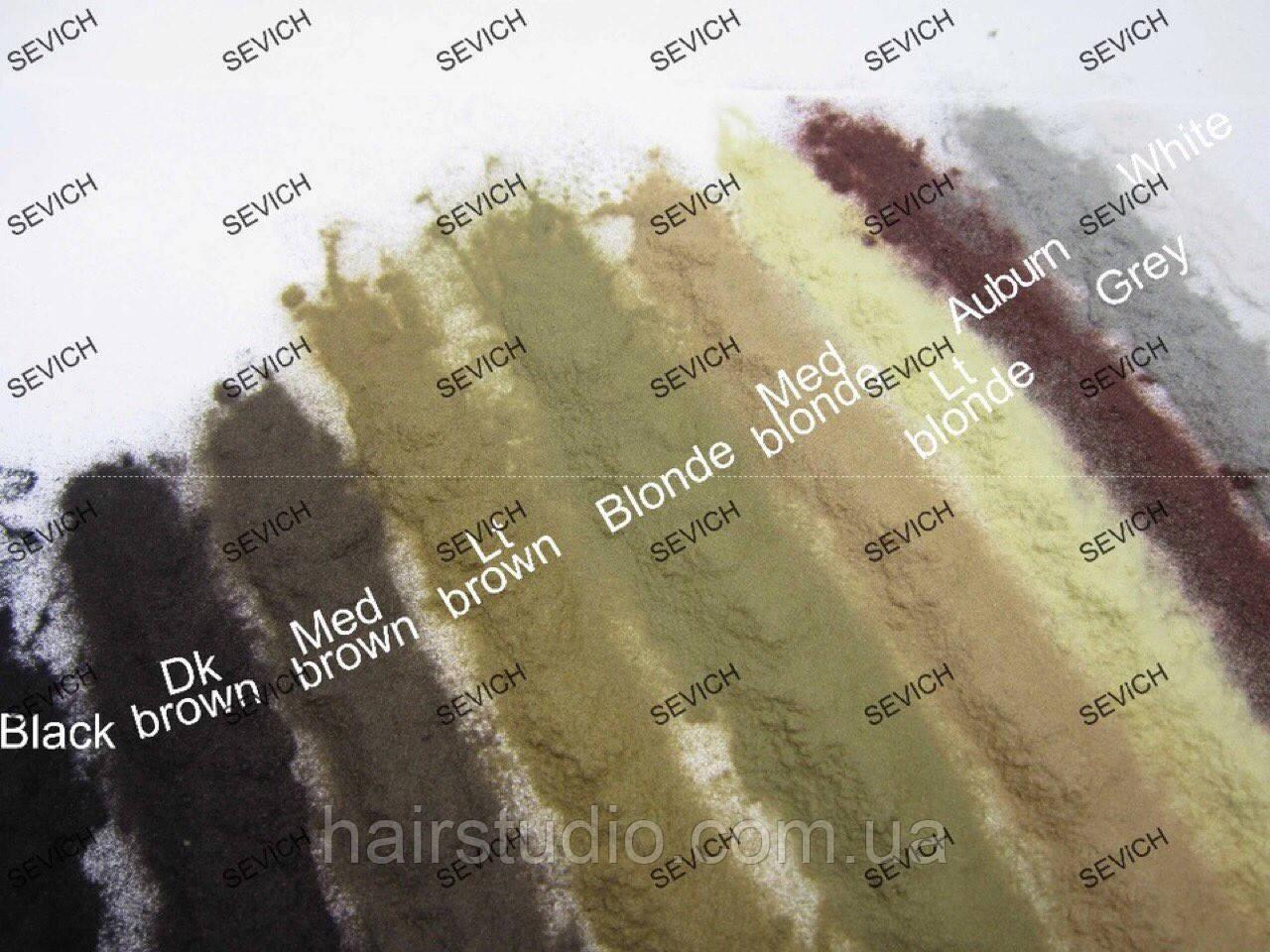 Пудра для волос коричневая
