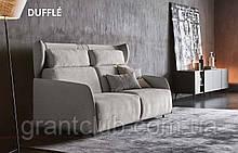 Розкладний диван з ортопедичним матрацом 160 см і високою спинкою DUFFLÉ фабрика Ditre Italia
