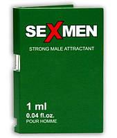 Концентрат мужских феромонов Aurora Sexmen Strong for men, 1 мл.