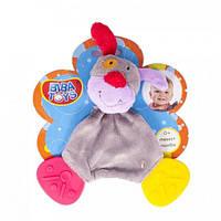 Слюновпитывающий грызун-погремушка Biba Toys JF616