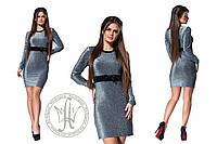 Нарядное платье / люрекс / Украина