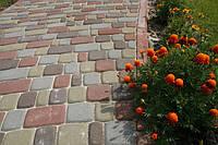 Тротуарная плитка Старый город (серая)