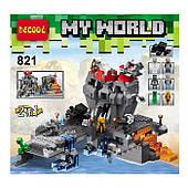 Конструктор Decool Minecraft 600 дет