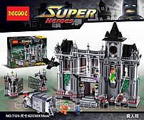 Конструктор Decool 1619дет Super Heroes Замок Бэтмен